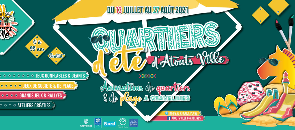 Atouts Ville - Quartiers d'été 2021